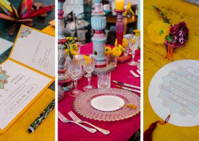 2.inviti-matrimonio-colorato-bollywood-mise-en-place