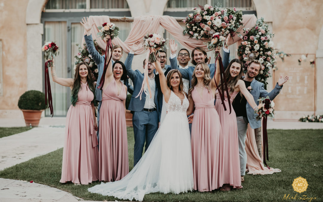 Destination Wedding Verona, the tale of Alexandra and David